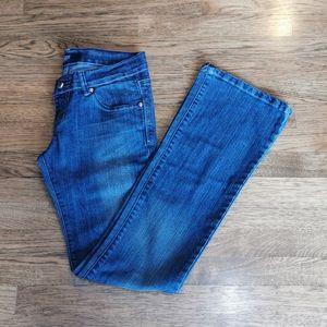 Rock & Republic Distressed Bootcut Jeans 30